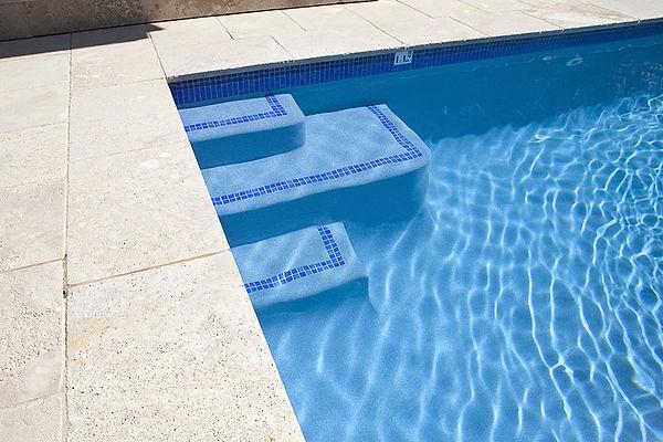 Pool Tiles Stairs