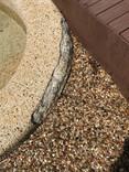 cracked pebblecrete
