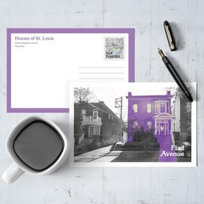 Postcard Project: St. Louis Sites