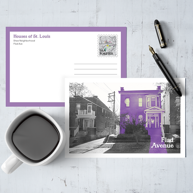 Postcard Project: St. Louis Sites