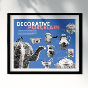 Decorative Porcelain Poster
