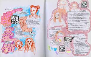 SB 23(?) Studio/Art History Doodles