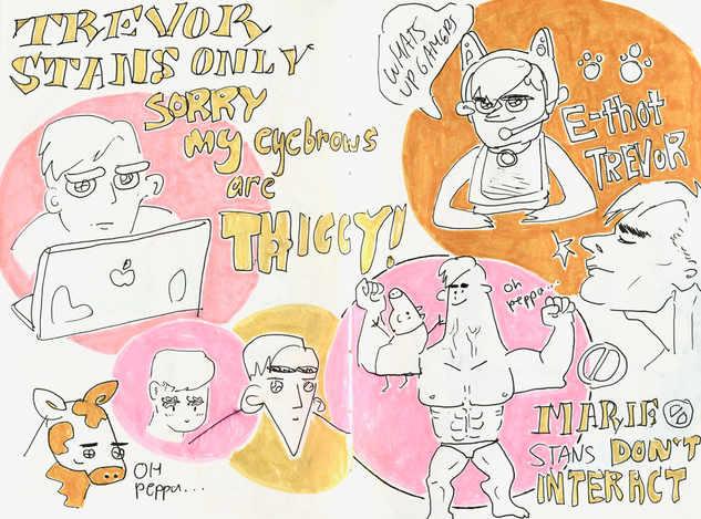 Drawings by Helen Xiu, design by me