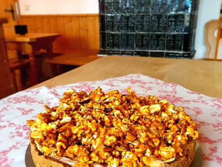 Nutella-Erdnussbutter-Torte