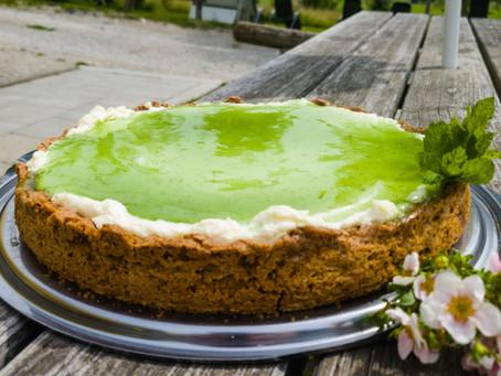 Limetten-Minz-Torte
