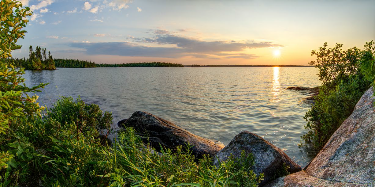 Canada island sunset photo BFL