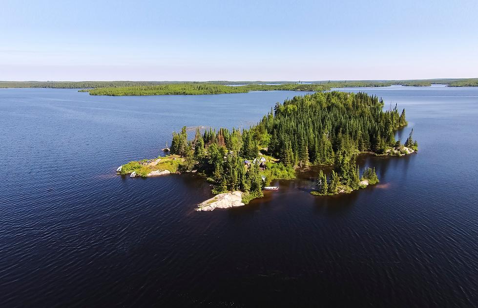 Canada island landscape picture