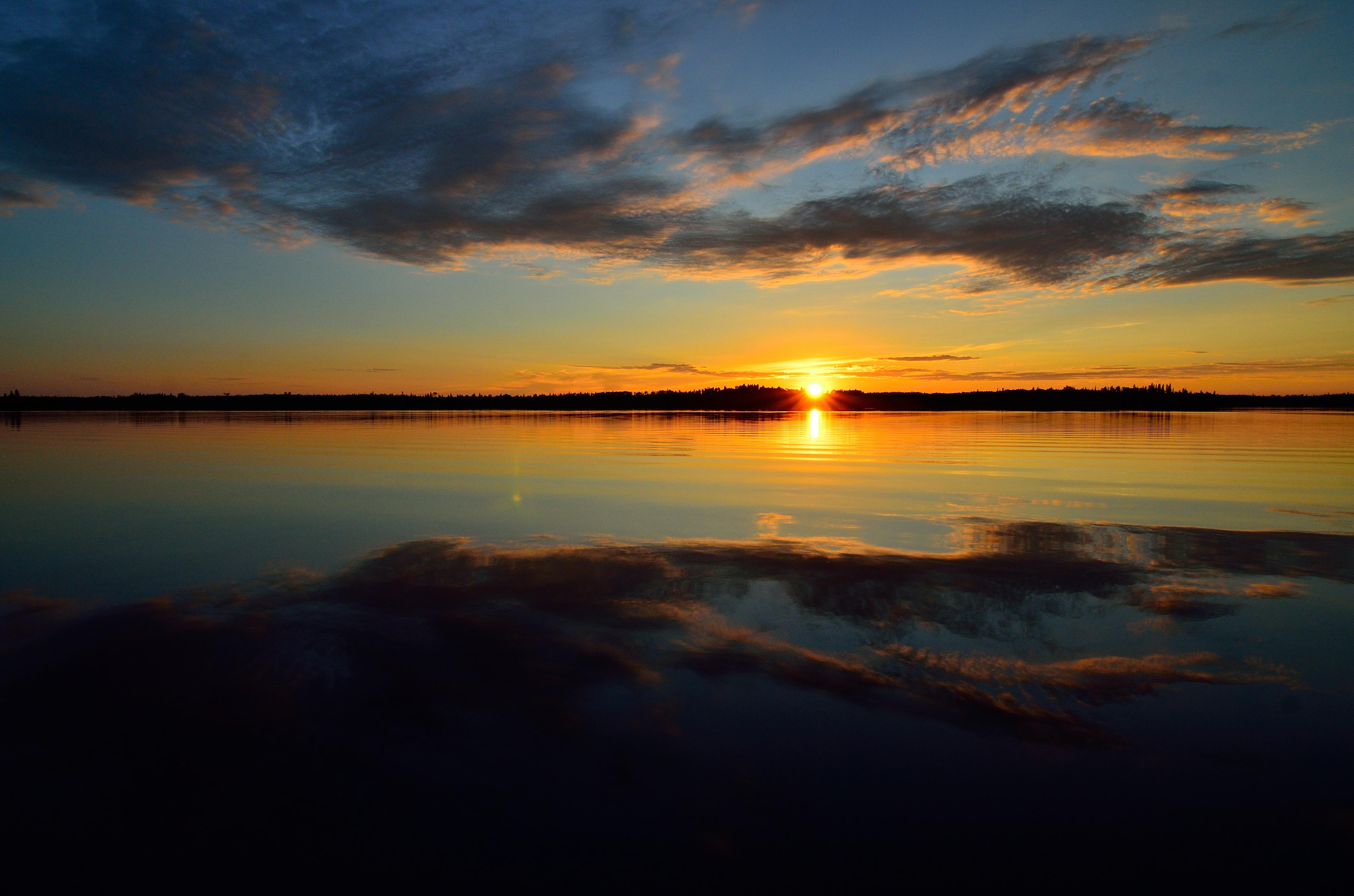 BFL gorgeous sunset & reflection