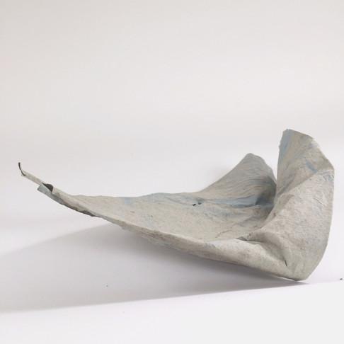 Scrap Sculpture IIII, Recycled Packaging Paper, 2020