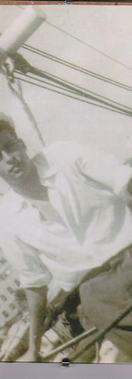 En el buque Cruz del Sur con el maestro Jacques Cousteau