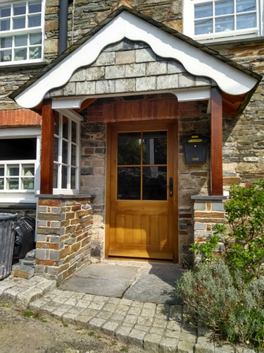 St Neot door and porch