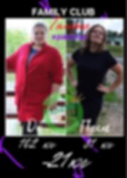 Результат похудения ДО и ПОСЛЕ