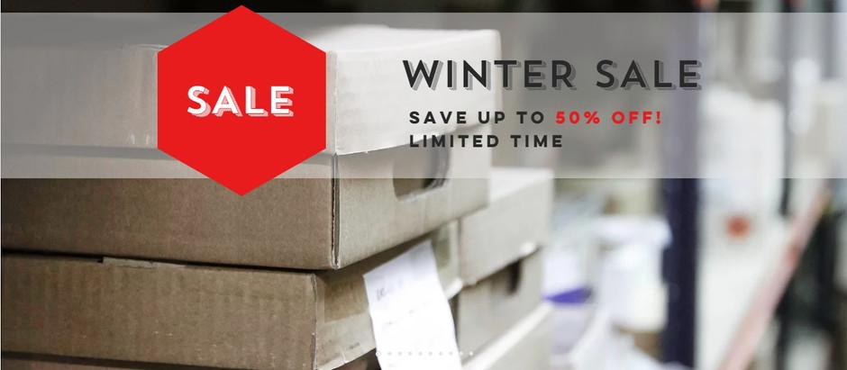 REX Winter sale is ON!