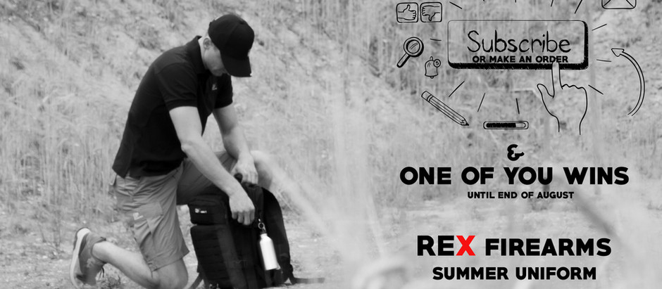REX summer uniform can be yours!
