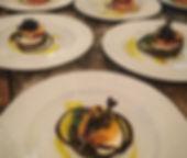 Heirloom Tomato + Peach Caprese