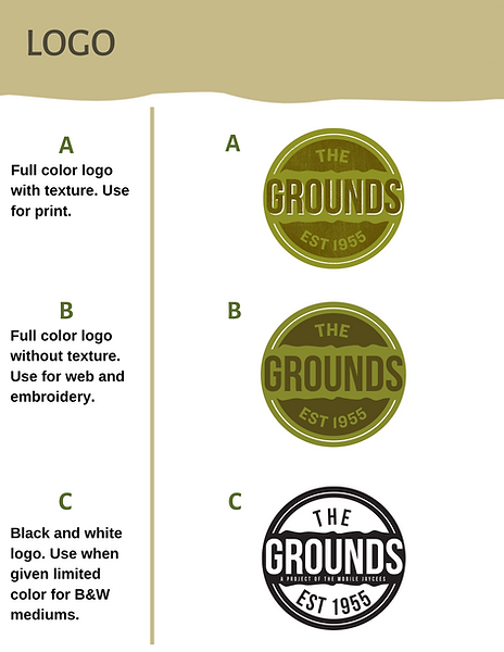 The Grounds Brand Manual