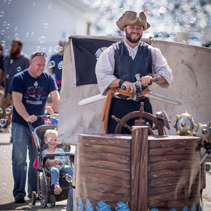 Just announced! Pirate Man Dan will be back this year - use code ARGMATEY for 10% off your ticket purchase! Valid 9/17-9/19