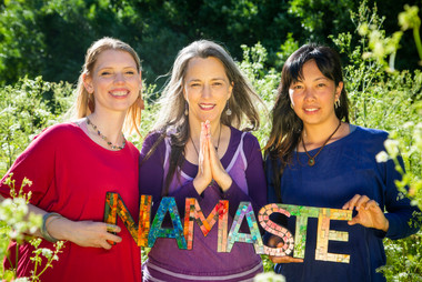 Partners Namaste / Bija Yoga Tasmania /