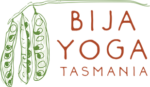 Bija Yoga Tasmana / Hobart / logo / nature / seeds / wattle