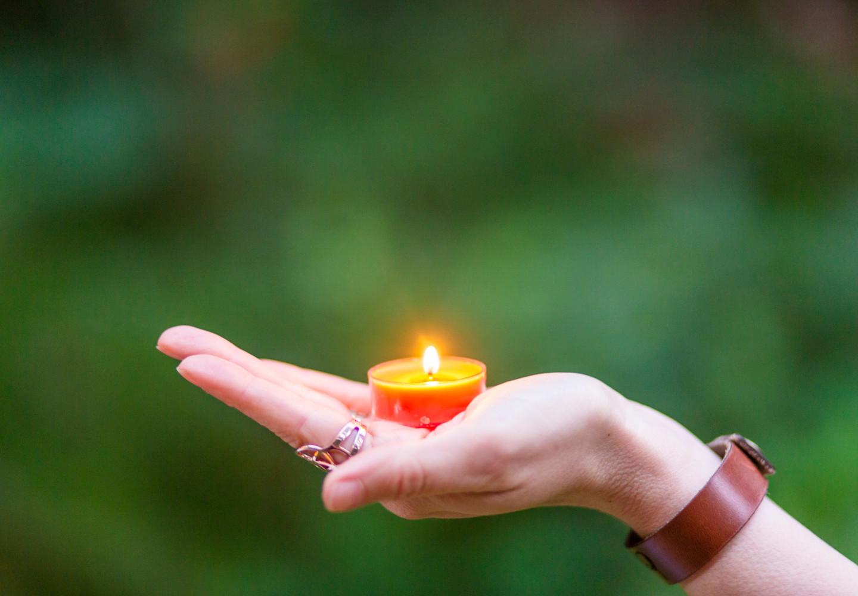 Bija Yoga Tasmania / Hobart / flame / fire / candle / focus / meditation / offering / stillness / pitta / elements
