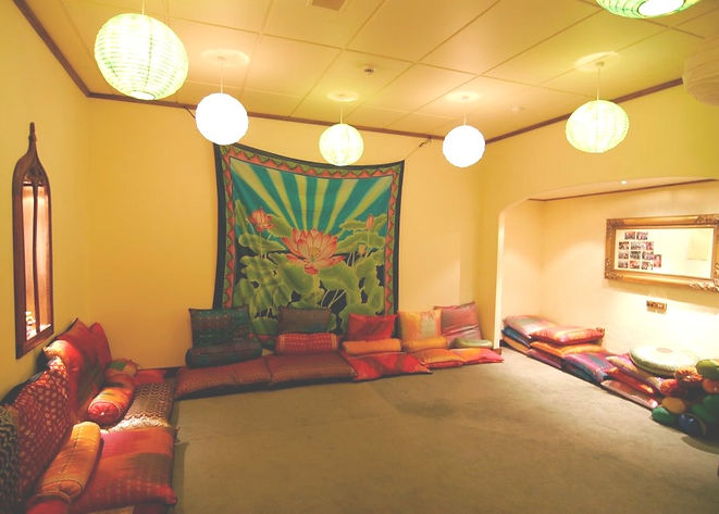 The Lotus Room at Bija Yoga Tasmania in