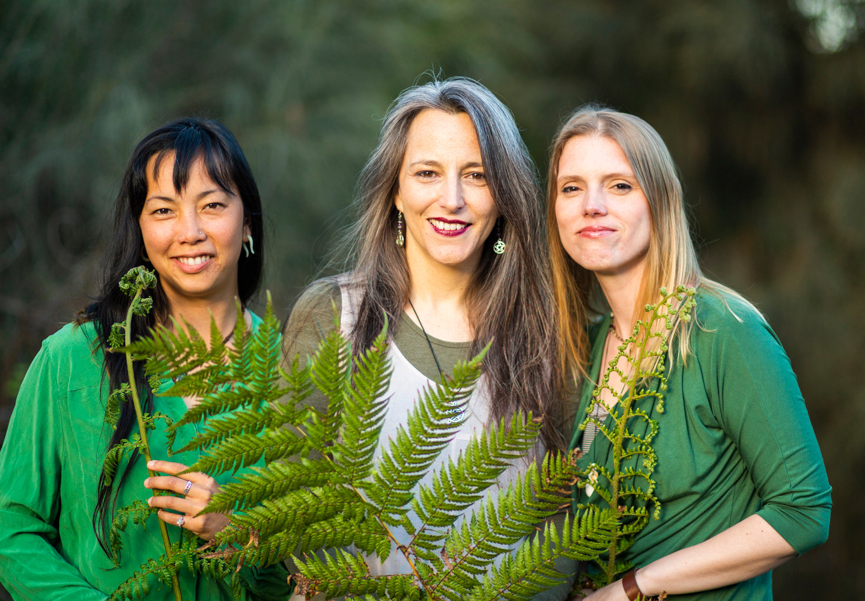 Bija Yoga Tasmania / Hobart / Pema Choo / Jen Van-Achteren / Holli Gipson / ferns / growth / green / heart chakra / partnership / development / unfurling / harmony / diversity