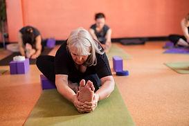 Bija Yoga Tasmania / Hobart / stretch / paschimottanasana / yoga props / yoga blocks / forward fold / hamstrings / flexibility