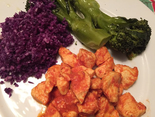 Try this Turmeric Chicken and Red Cabbage recipe!