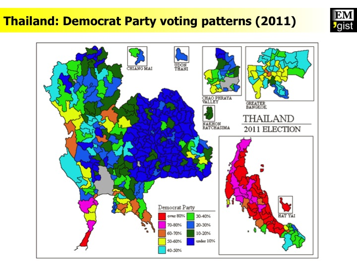Democrat Party votes (2011)