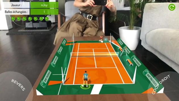 We are tennis (IOS) - Environment design