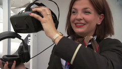 ATR Bourget booth VR - Graphic design