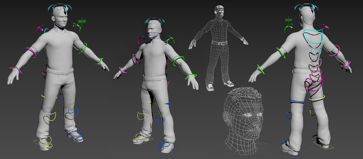 Character rigging