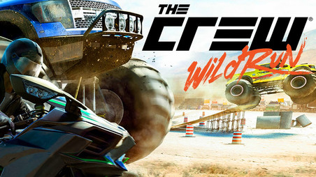 The crew Wild run - Cover illustration