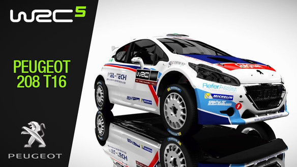 WRC 5 - Vehicle modelling