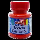 8788 - TINTA PARA TECIDO RADEX - VERMELH