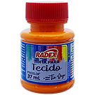 8782- TINTA PARA TECIDO RADEX - LARANJA