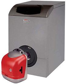 Diesel boiler unit