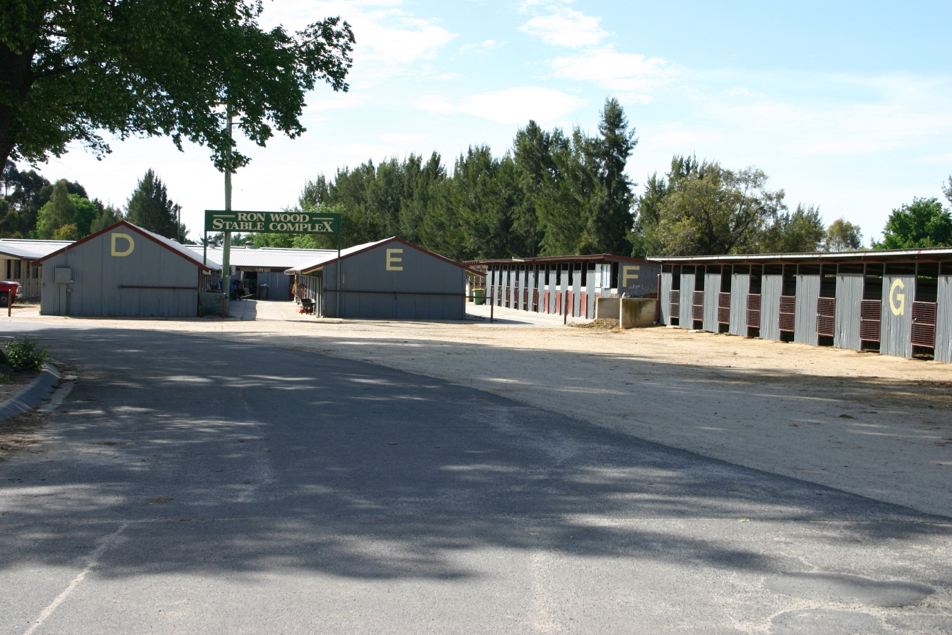 Bathurst Showground stables