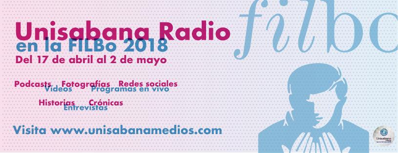 Unisabana Medios | Unisabana Radio en Filbo 2018