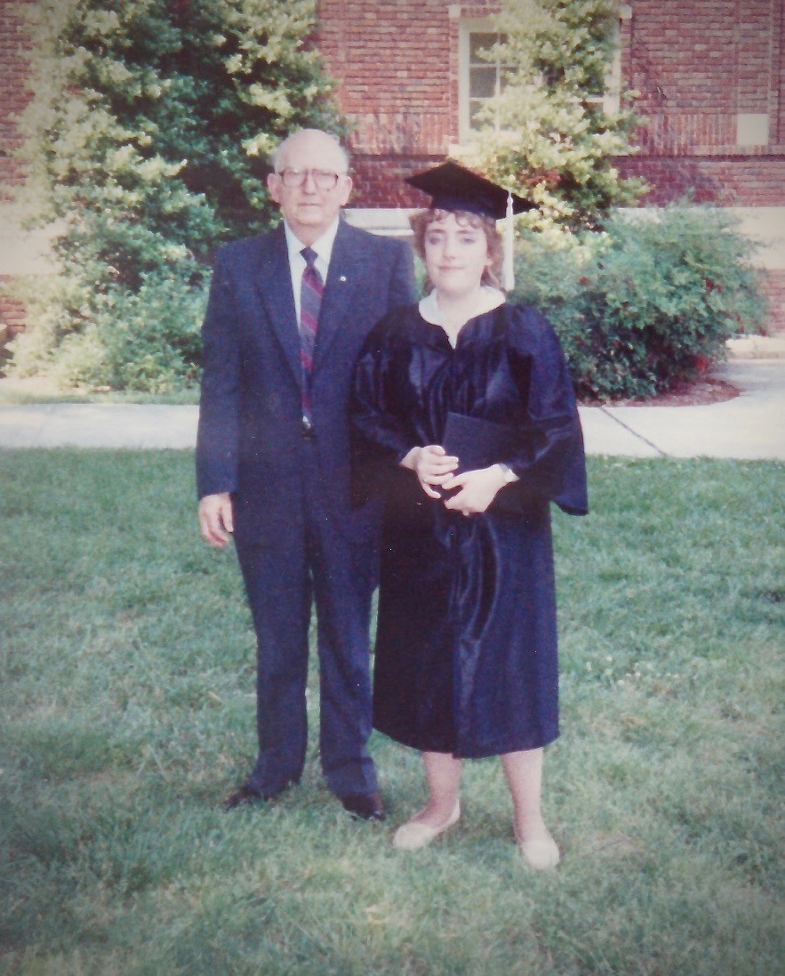 my father, college graduation, grief, anger