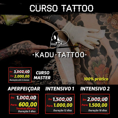 CURSO TATTOO - BÁSICO