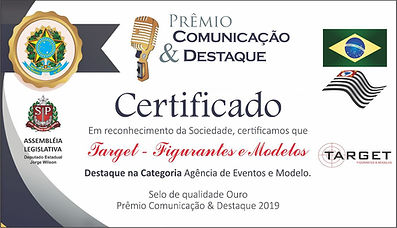 agencia target  de figurantes e modelos