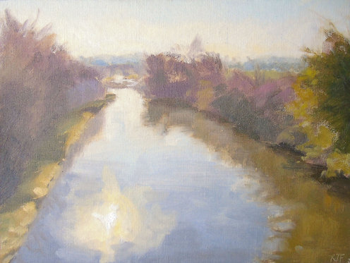 Sun over the Canal