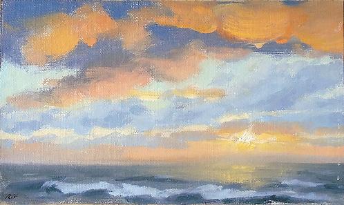 Last Light over Sea