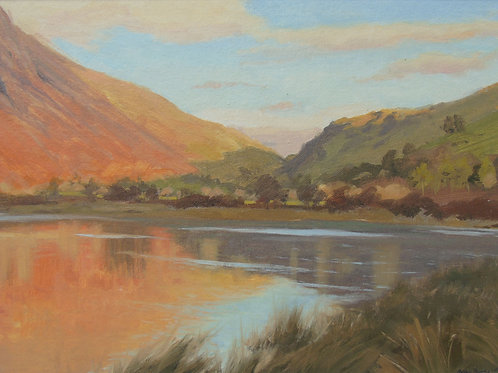 Tal Y Llyn, Winter Light