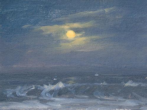 Moon set before the Dawn