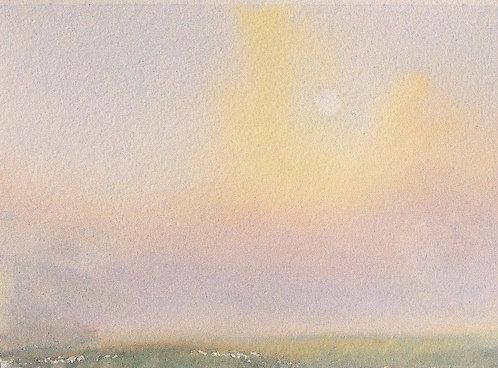 Sunrise through the Mist II