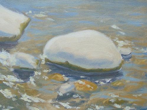 Sun bleached Pebbles