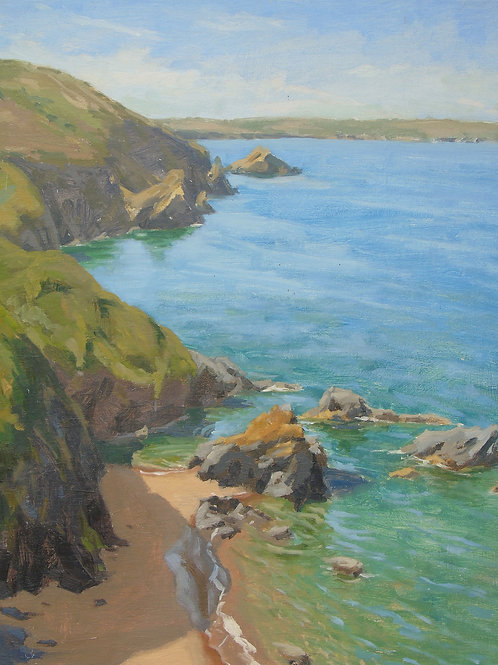 Rugged Coast, Llangrannog