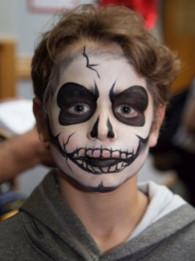 Scary Skull #skullfacepaint